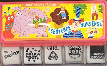 japanese tomy pocket games